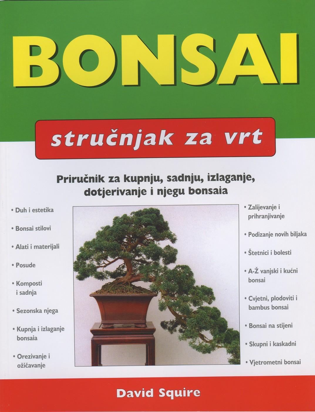 Bonsai - stručnjak za vrt