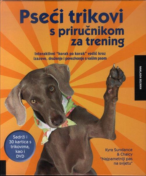 Pseći trikovi s priručnikom za trening + DVD