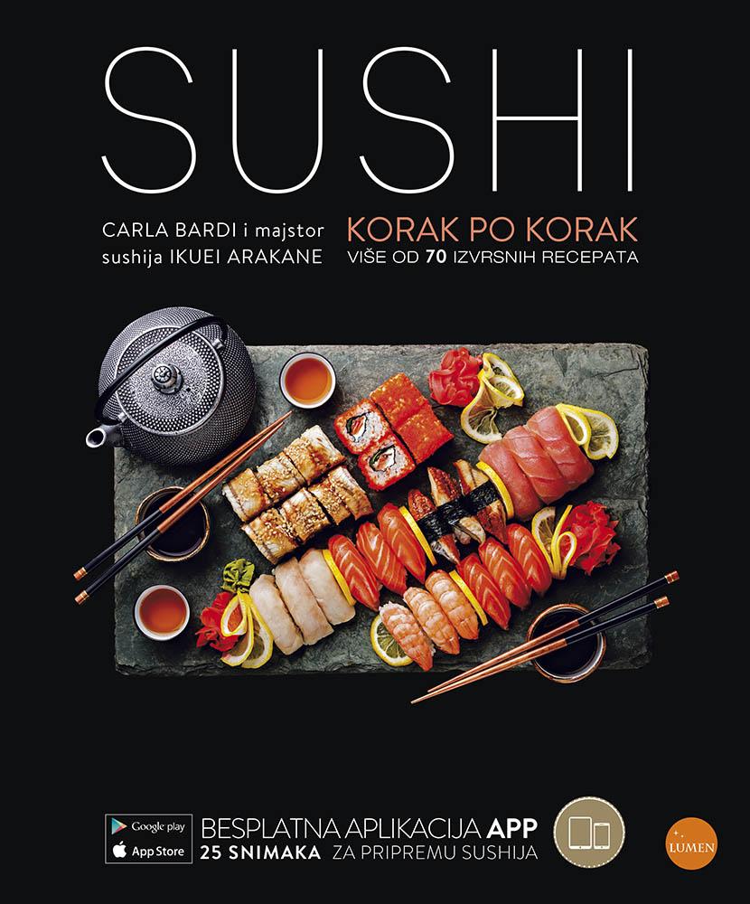 Sushi - korak po korak